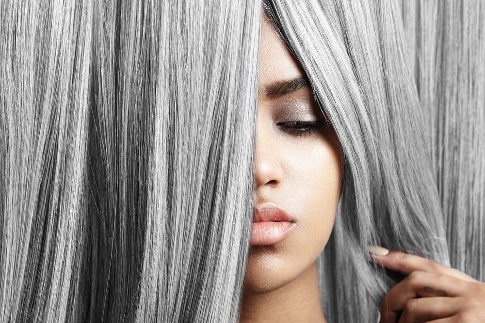 Серый не седой. Как покрасить волосы в серый цвет